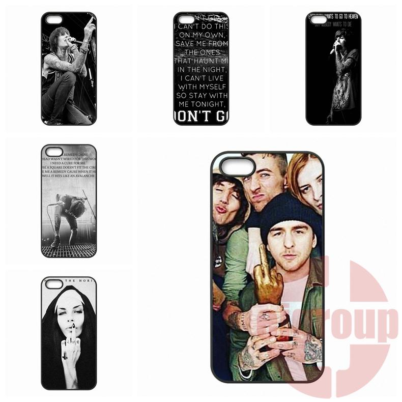 For Apple iPhone 4 4S 5 5C SE 6 6S Plus 4.7 5.5 iPod Touch 4 5 6 Bring Me The Horizon BMTH Case Cover
