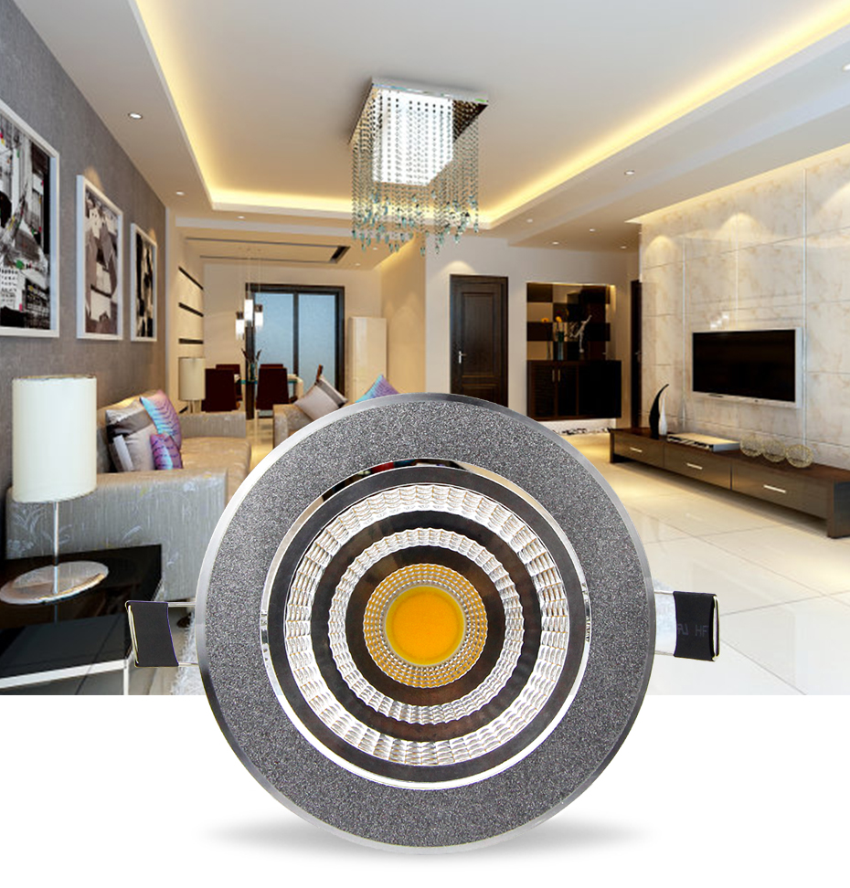 Foco regulable LED Downlight empotrable