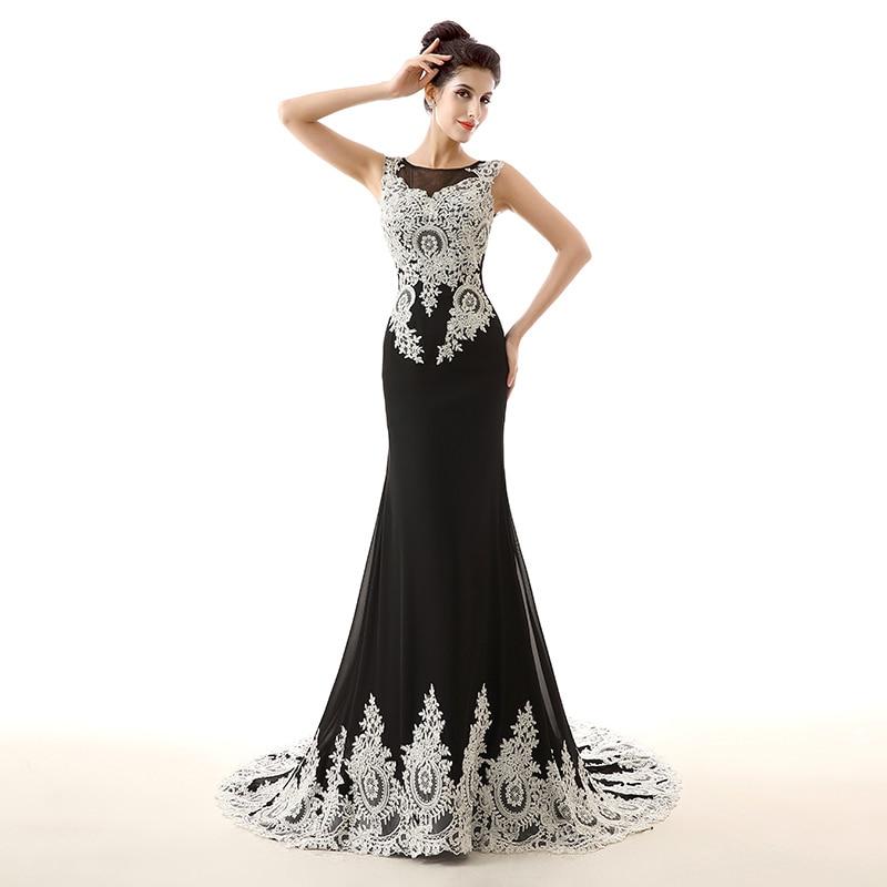 Plus Size White Evening Dress