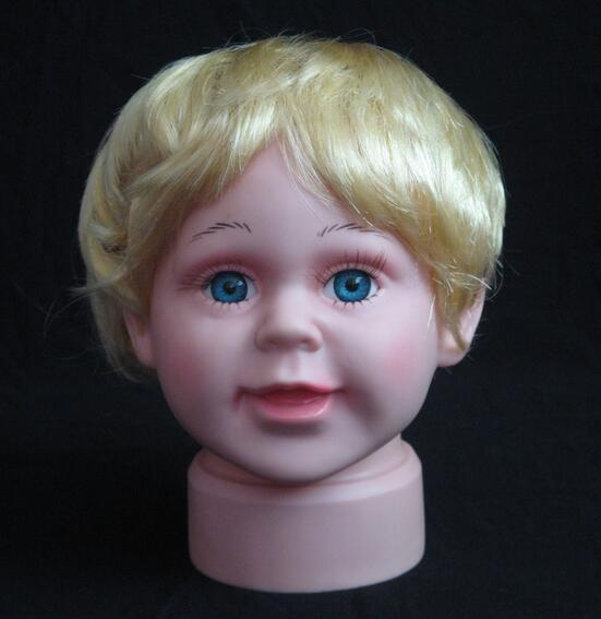 wig mannequin dummy head,wig for baby head mannequin for sale doll,Freeshipping,M00501