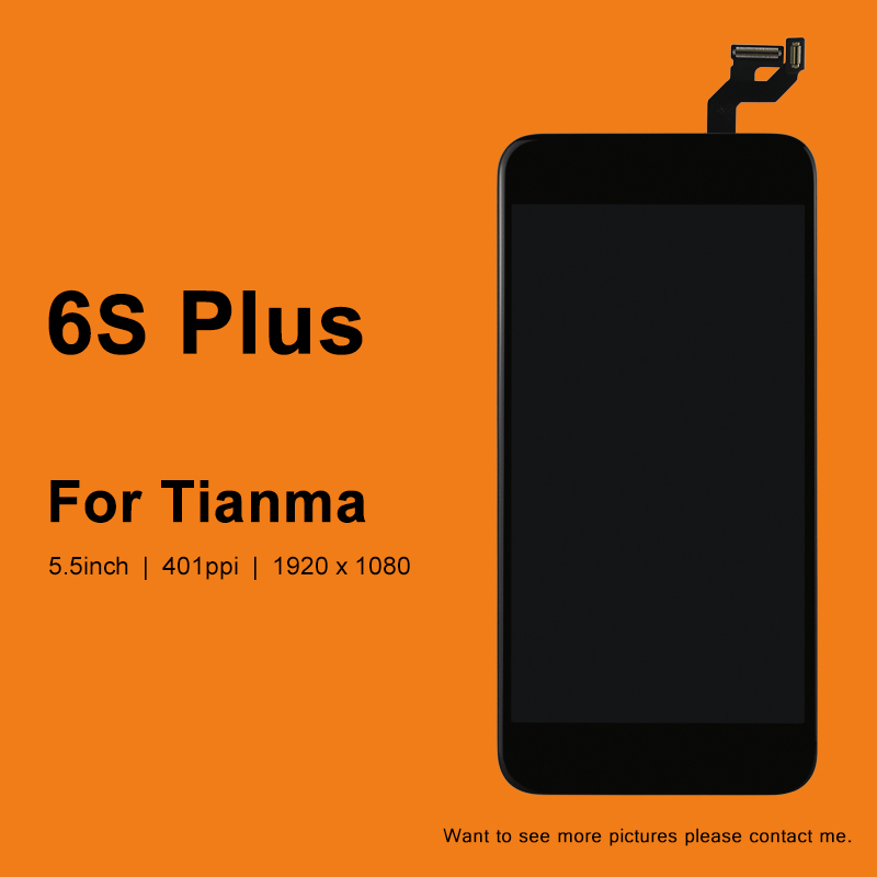 10PCS For iphone 6S Plus LCD Display For Tianma Touch Screen With 3D Touch Assembly Replacement