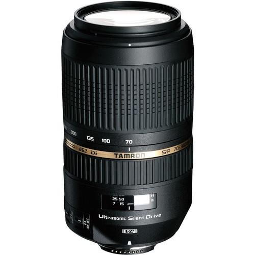 <font><b>Tamron</b></font> SP 70-300mm f/4-5.6 Di VC USD Telephoto Zoom Lens for Nikon <font><b>Digital</b></font> SLR (Model A005)