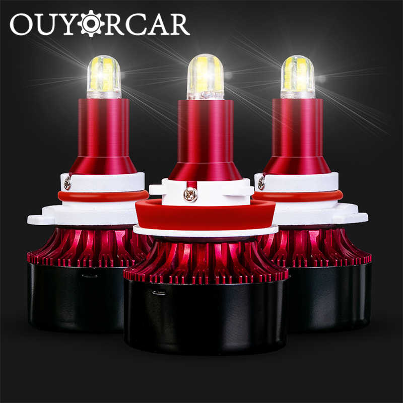 8Sides CSP H11 h7 H1 LED Headlight canbus no error bulb Fog light H8 Turbo HB3 9005 HB4 13500LM LED HID2 Auto Led Lamp 12V 6000K