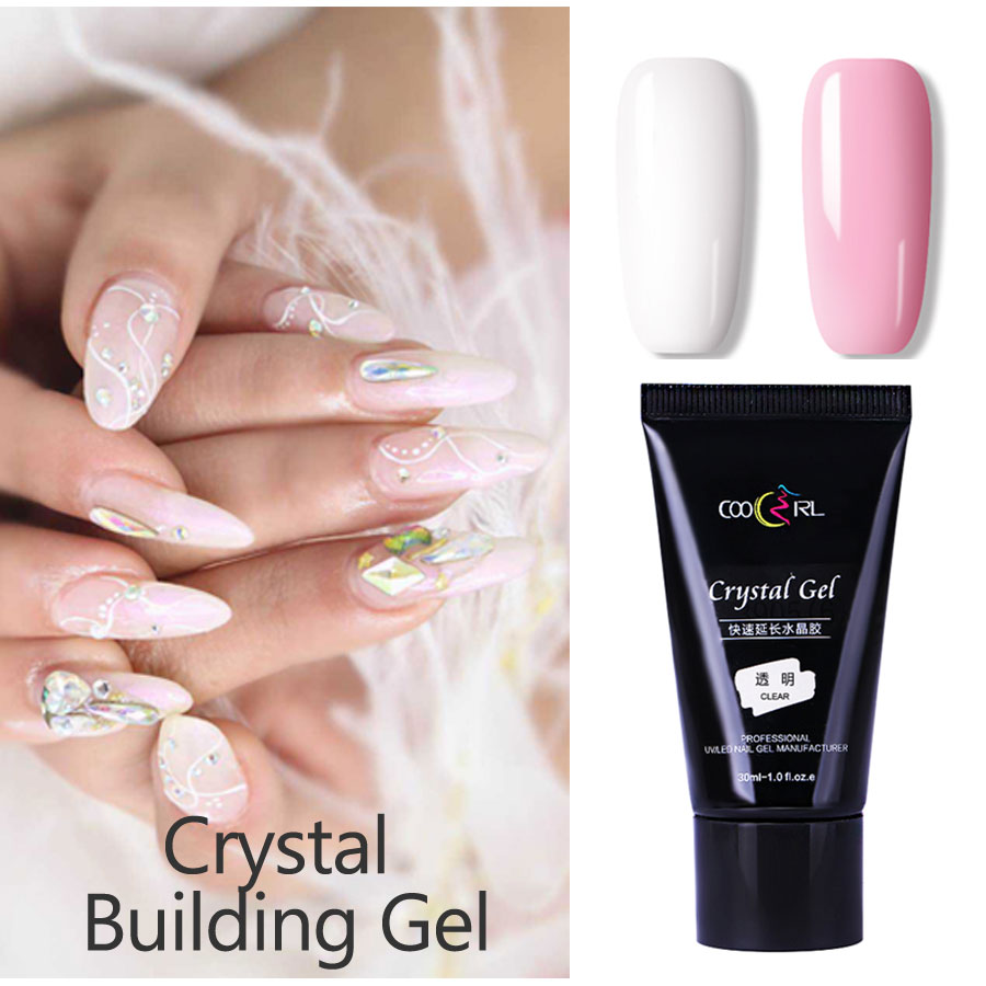 30ml Quick Building Poly Gel Nail Tips Finger Extension Glue