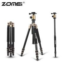 ZOMEI Z818 переносной, из алюминия магния Aolly штатив дорожный треножник для камеры с шаровой головкой гибкий монопод для DSLR видео Камера