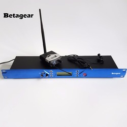 Betagear BT5101 IEM Stage in ear monitor wireless System uhf Transmitter 1 Receiver in-ear system sound monitor studio recording