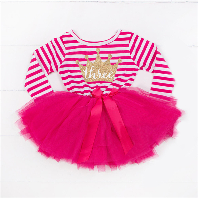 76349524f2a42 US $6.61 |Baby Girl 1 Year Birthday Dress Toddler Girls Clothes Elsa Crown  1 2 3 Year Old Baby Kids Dresses For Girls Wedding Party Wear-in Dresses ...