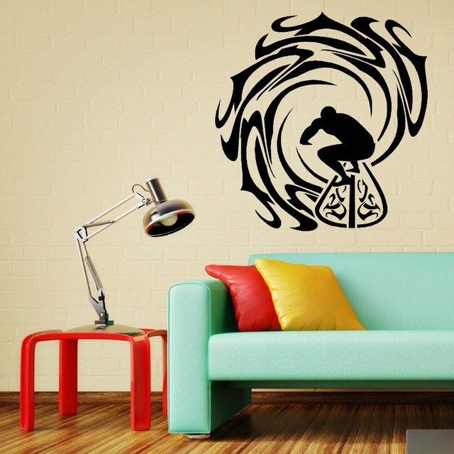 art vinyl wall decalsuffer and waves home decor vinyl wall art