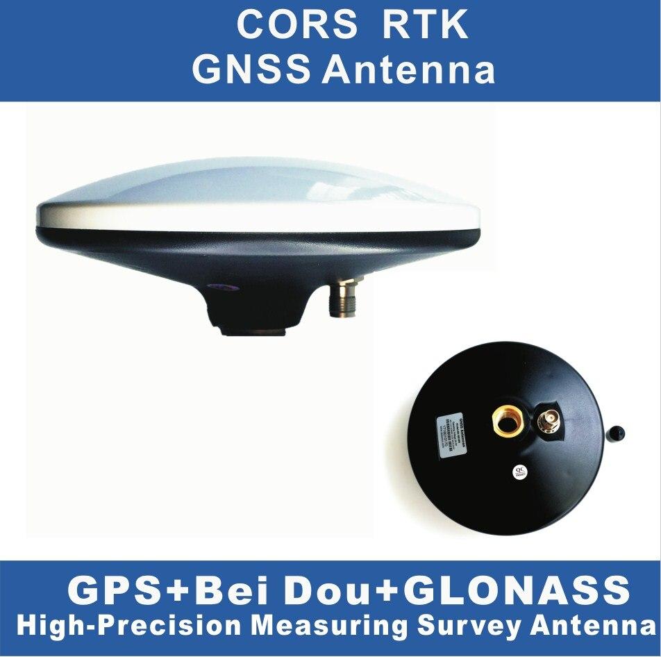 RTK système à GAIN ÉLEVÉ, GNSS antennes, GPS Glonass Galileo Bei Dou Haute-Précision étanche antenne enquête, soutien 3 système mode