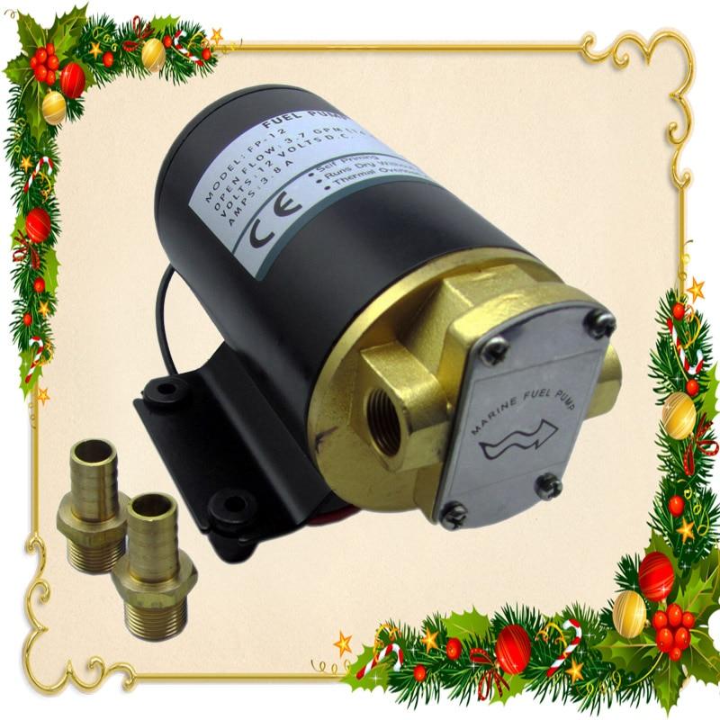 ФОТО Wholesale for  12V 14LPM(3.68GPM) oil transfer marine reversible mini gear pump