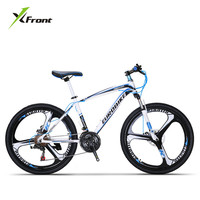 New Brand Mountain Bike Carbon Steel Frame 21 27 Speed Dual Disk Brake Bicycle Outdoor Sports