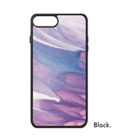 Współczesna Sztuka Obraz Olejny Abstrakcyjne Wszechświat Geometria Kolor bloku Piasek Phone Case for iPhone X 7/8 Plus Przypadkach Pokrywa Phonecase