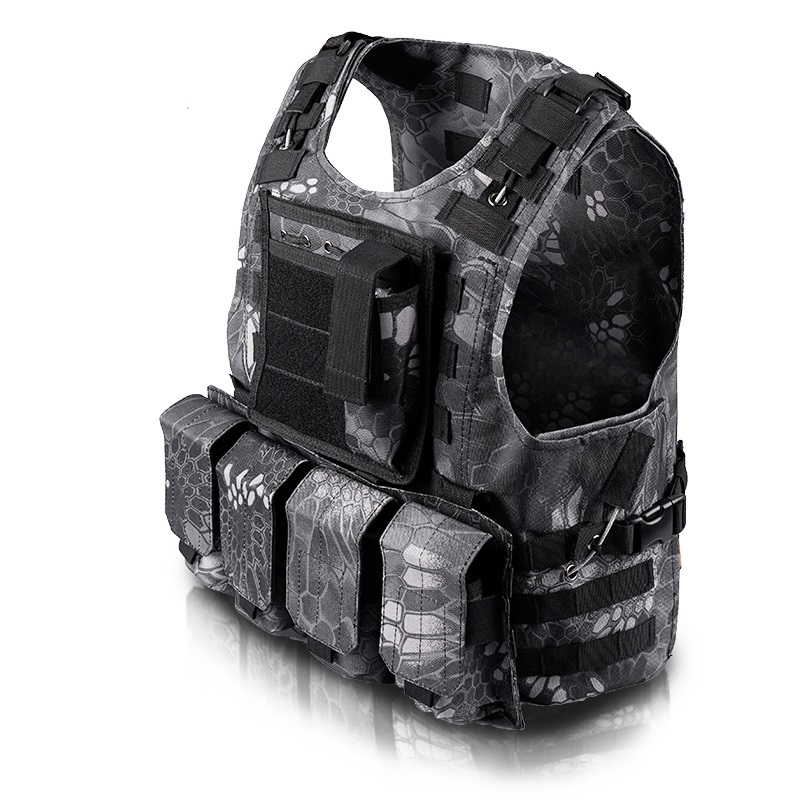 Military Outdoor Mango Camouflage Tactical Men 's Camouflage Tactical Vest Stab - proof Vest