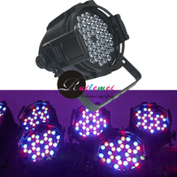 Led de alta Potência 3Wx54 RGBW Led Par Can Luz de Discoteca Casamento DMX DJ Stage Efeito Equipamento Teatro Iluminações Luz Negra, 4 Pçs/lote
