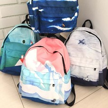 Women backpack 2016 New Fashion canvas school backpack girl backpack simple school bag for women casual women travel bag