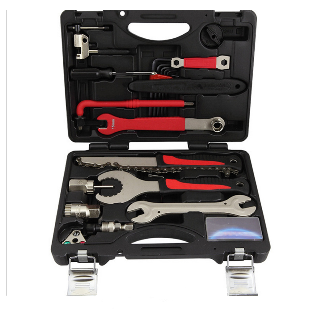 BIKEHAND Multi-function Bicycle Tool Kit Hex Key Wrench Remover Crank Puller Cycling Repair Tools Box Set  Bicycle MultitoolBIKEHAND Multi-function Bicycle Tool Kit Hex Key Wrench Remover Crank Puller Cycling Repair Tools Box Set  Bicycle Multitool