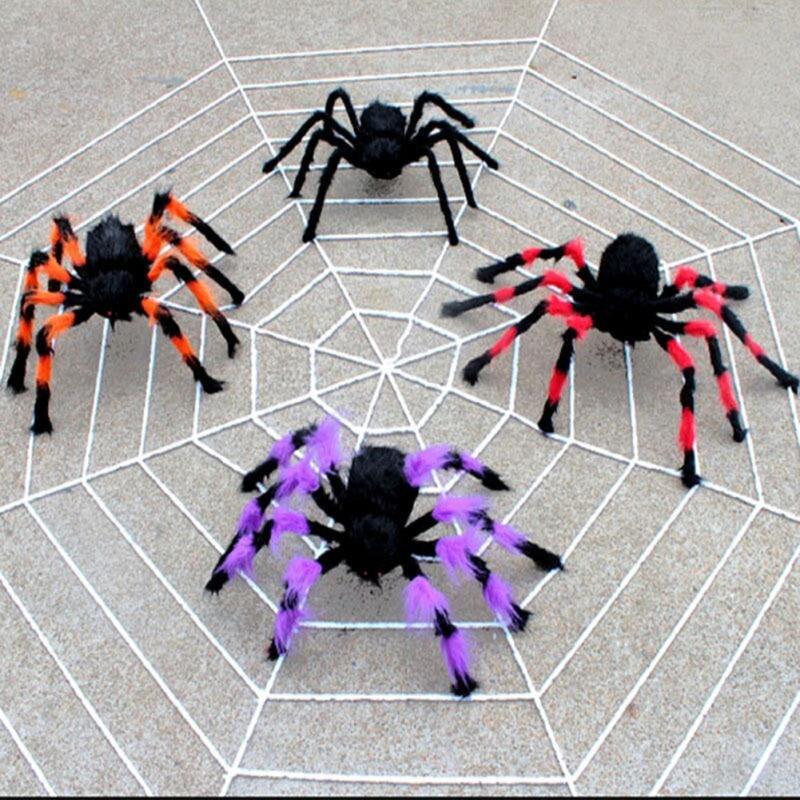 1 pc halloween decoration 2016 spider haunted house prop random ship black colorful indoor outdoor decor