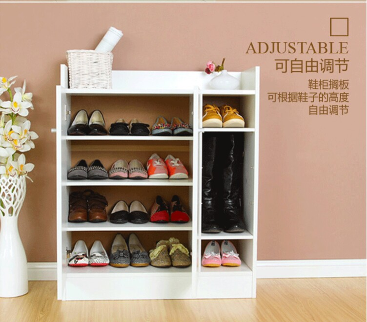 Aliexpress.com : Buy Shoe Racks Living Room Furniture Home Furniture Wood  Panel Multi Functional Shoe Rack 80*30*90cm Whole Sale Hot New Can Csutomiz  From ...