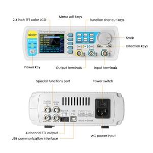 Image 5 - FY6800 Dual channel 20MHz Digital signal generator DDS Frequency Function Generator Arbitrary Waveform Generator 250MSa/s 14bits