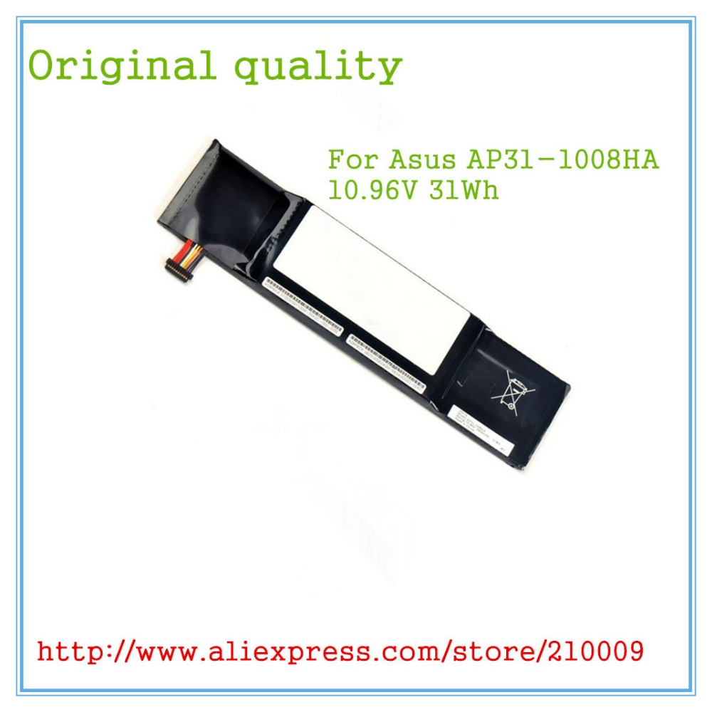 Original Laptop Battery AP31-1008HA for  PC 1008 1008H 1008HA AP31-1008HA AP32-1008HA 10.96V 2900mAh ночная сорочка 2 штуки quelle quelle 966812