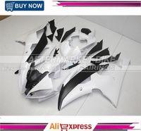 Жемчужно белый мотоцикл обтекатель комплект для Yamaha R6 2008 2009 2010 2014 кузова 2011 2012 2013