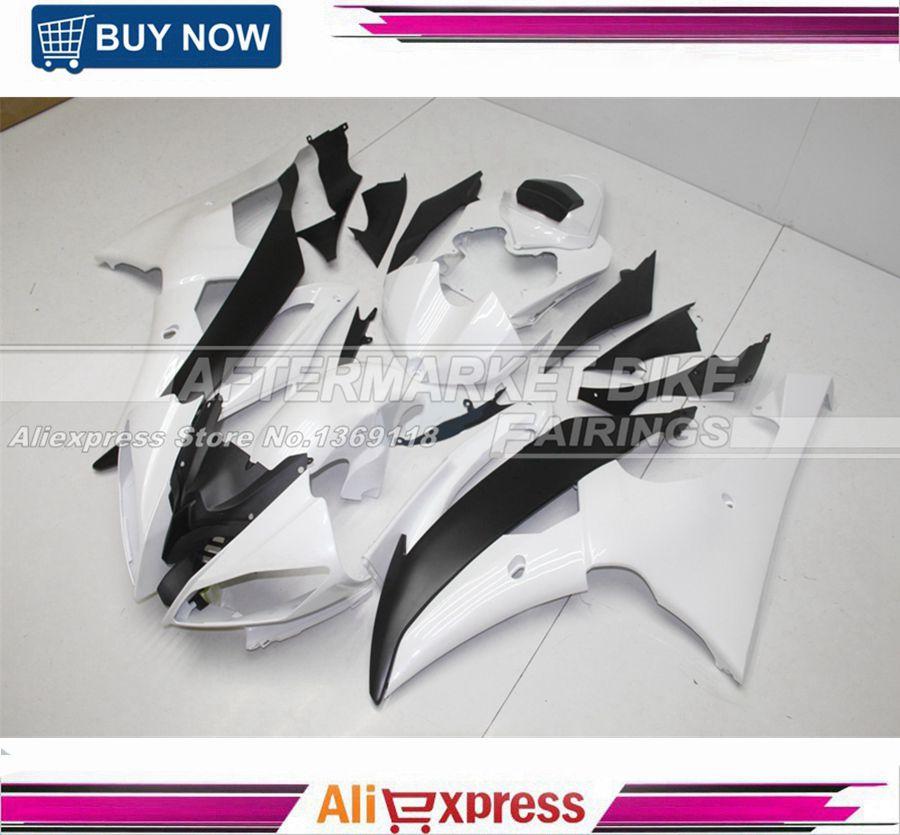 ღ Ƹ̵̡Ӝ̵̨̄Ʒ ღPerla-blanco Kit de carenado de motocicleta para ...