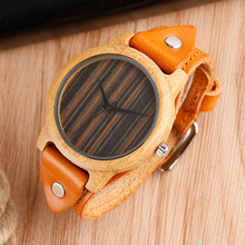 Top Brand Creative Steampunk Bamboo Handmade Wood Watch Men's 2 Styles Wrist Watch Male Sports Quartz Watch Reloj de madera Gift