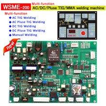 Сварки плата управления WSME 315 многофункциональный элемент управления панели pcb карты для IGBT AC/DC/Pulse/TIG/MMA сварочный аппарат