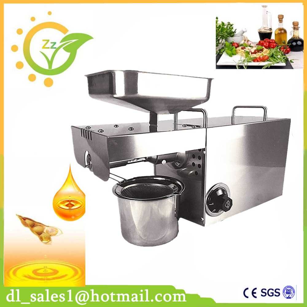 Home Use Oil presser Stainless steel Cold&Hot Oil press machine Peanut Oil Maker 220V/110V Suitable For Sesame/Almond automatic small peanut oil press machine oil soybean presser 220v 200w stainless steel brand new for home use