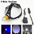 New Arrive Head Lamp Cree XPE Led 800LM 4 Modes 90 Degrees Adjustable Headlights Lamp Lights+AC Charger By 2*18650 Battery