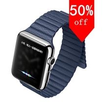 Smartwatch saphirglas screen bluetooth smart watch für apple iphone für samsung android-handy intelligente uhr smartphone