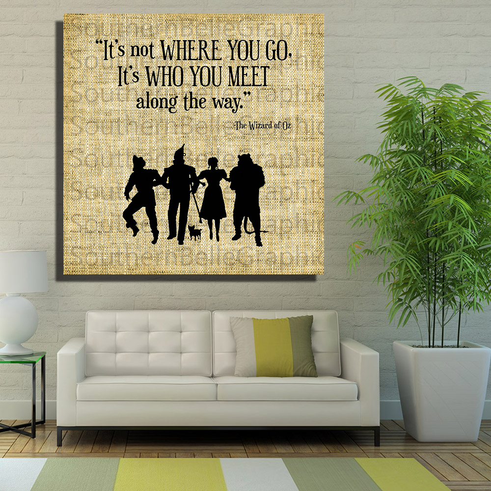Attractive Wizard Of Oz Wall Art Embellishment - All About Wallart ...