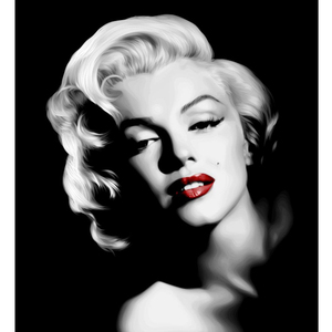 Diamond Painting Marilyn Monroe 5D DIY Round Diamond Embroidery Mosaic Kit Portraits Rhinestone Picture for Home Decoration