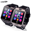LANGTEK Q18 Passometer Smart watch with Touch Screen with camera support SIM TF card Bluetooth smartwatch for Android IOS iPhone