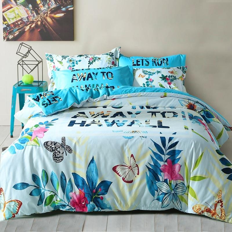 Online Get Cheap Tropical Bedding Aliexpress Com