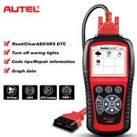 Autel Autolink AL619 ABS/SRS + CAN OBD2 Scan Tool Update Online Autel AL619 OBDII Scanner Auto Code Reader Scanner Automotive