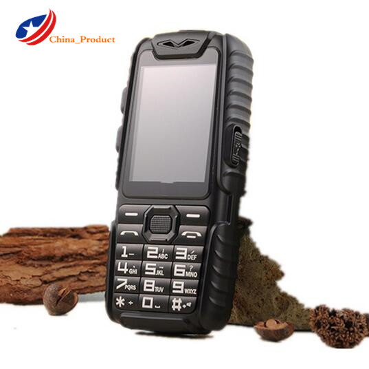 Guophone A6 Mobile Phone Daily Waterproof Dual Sim 2 4 Flashlight Power Bank Long Standby CellPhone