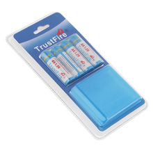 TrustFire 1.2V 2700mAh AA Ni-MH Battery Rechargeable Batteries with Low Self-discharge + Portable Battery Box