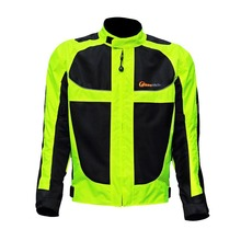 Motorcycle Jacket Racing Motorcycle Men Jaqueta Motorbike Visibility Safety Reflective Jacket moto mesh breathable clothes