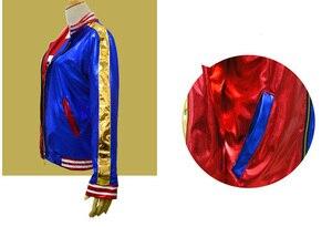 Image 5 - 自殺分隊ハーレークインコスプレ衣装服女性バットマンアーカムアサイラム市ジョーカームービーハロウィンアニメトップジャケット