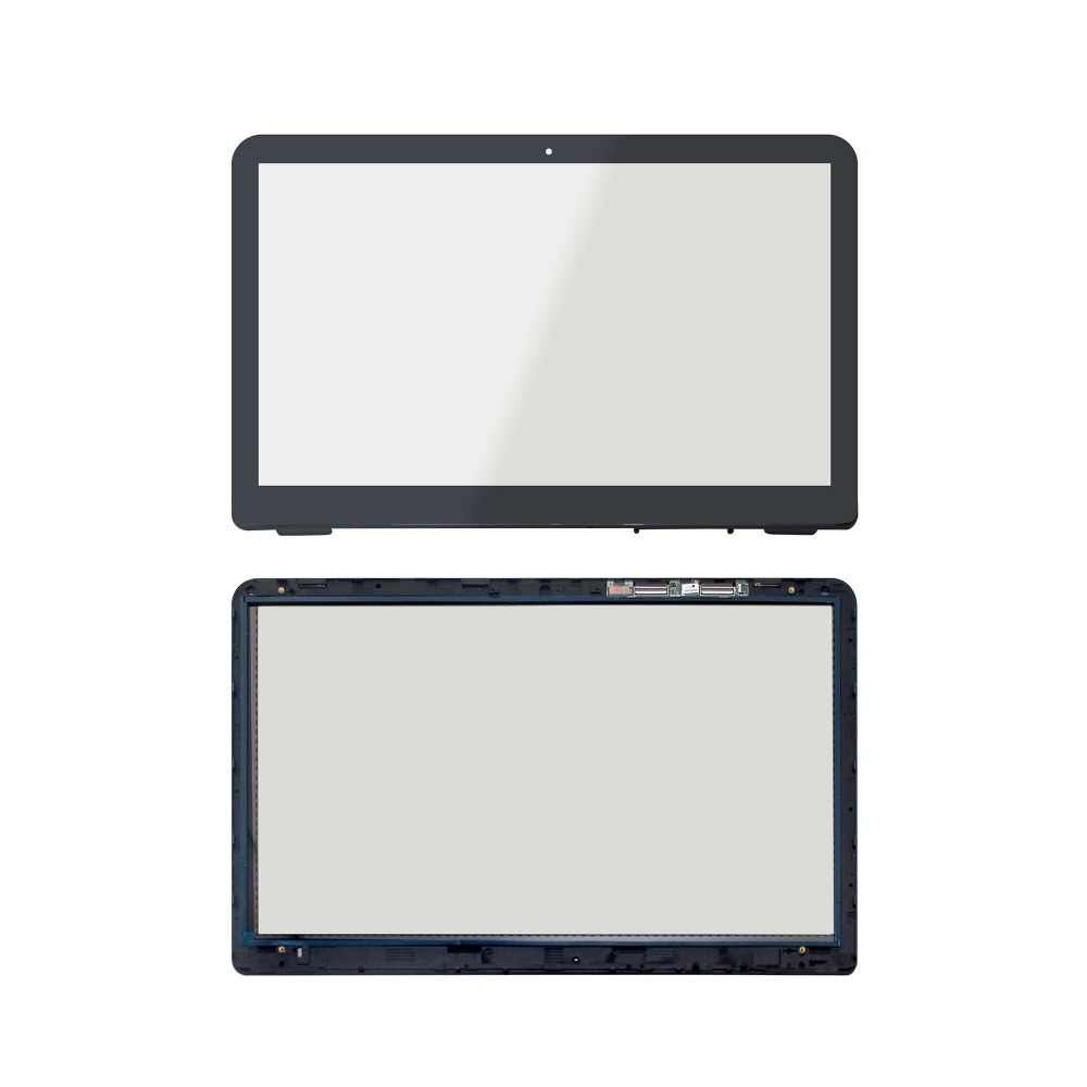 New 15.6 Touch Screen Glass Lens Replacement with digitizer For HP Envy X360 m6-w101dx 15 6 lcd display matrix touch screen digitizer assembly with bezel for hp envy x360 m6 w102dx m6 w101dx m6 w104dx m6 w015dx