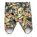 Новое качество летние мужчины мода мужская свободного покроя джинсы шорты красочные цветы карманы пляжные шорты досуг шорты мужские