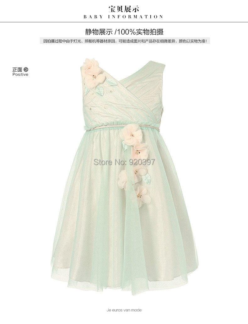 ₩Envío Gratis chirstmas niños niña princesa vestido niña vestido ...
