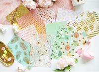 Фольга Cardstock веленевая писчая бумага Craft Бумага Pad для Скрапбукинг счастливый планировщик/Card Making/журналистский проект/дома деко