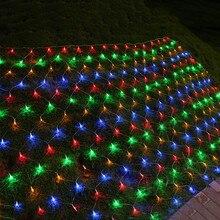 BEIAIDI 2x2/3X2 м светодиодный Рождественский сетка Фея Строка светильник на открытом воздухе Свадебные окна чистая Сосулька Светодиодный гирлянда праздничный светильник Инж