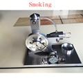Круто! миниатюрный двигатель Стирлинга 'Smoking' двигатель Стирлинга двигатель генератор модель хобби Образовательные Игрушки Наборы
