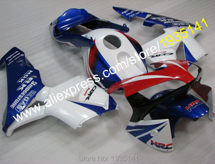 Hot Sales,For Honda CBR600RR 2003 2004 Factory Color 03 04 CBR 600 RR HRC ABS Sports Bike Moto Fairing Kit (Injection molding) hot sales for honda cbr600rr 2003 2004 cbr 600rr 03 04 f5 cbr 600 rr blue black motorcycle cowl fairing kit injection molding