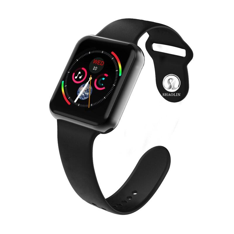 Montre sport montre intelligente série 4 anglais Version Bluetooth 4.0 moniteur de fréquence cardiaque pour Android IOS Apple montre iphone 6 7 8 X