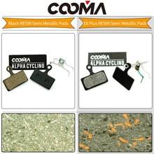COOMA's Brake pads for SHIMANO XTR M9000, M9020, M988, M987, M985, Deore XT M785, Deore M615, SLX M666, M675 Disc Brake, 1 Pair(China)