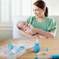 6 pcs Do Bebê Mamilos Crianças Dispositivo Medicina Líquido Ferramenta de Alimentação Do Bebê Aspirador Nasal Nose Cleaner Ferramenta Medicina Seringas de Segurança